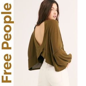 """🆕 Free People """"We the Free"""" Backless Thermals"""